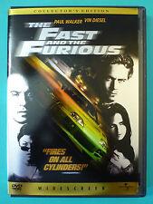 The Fast and the Furious (DVD*En/Fr*Paul Walker*Vin Diesel*Michelle Roderiguez)
