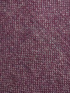 Conor Quin Ireland Plum Blue Woven Tweed Wool Tie Dublin Handmade Vintage