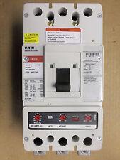 EATON Cutler Hammer DK 3 pole 400 amp trip DK3400W Circuit Breaker RED / WHITE