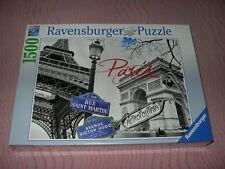 Puzzle Ravensburger 16296 Paris, mon amour 1500 pièces neuf sous blister