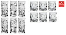 Set of 12X RCR Italian Crystal Hi-Ball & Whisky Oasis Glass Set Gif/Presentation