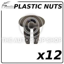 CLIP PLASTICA DADI 8,5 x 8,5 mm - 5/6 PER NISSAN QASHQAI RICAMBIO 12551 12 pezzi