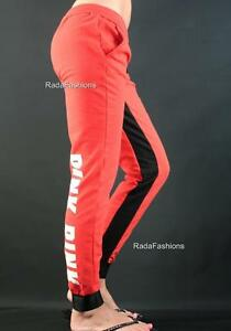 Victoria's Secret PINK Collegiate Graphic Logo Fleece Jogger Sweat Pants NWT
