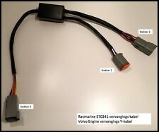 Raymarine Volvo Penta E70241 replacement Y-loom cable for ECİ-100