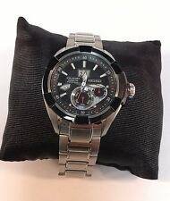Seiko Velatura Kinetic Black Dial Stainless Steel Men's Watch Item No. SNP101