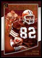 2018 DONRUSS ALL-TIME GRIDIRON KINGS OZZIE NEWSOME CLEVELAND BROWNS #AGK-26