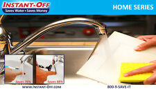 INSTANT-OFF HOME 500  Automatic Water Shut-Off  Kitchen Water Saver Stops Drips