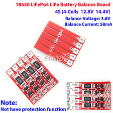 4S 12.8V 14.4V LiFePo4 LiFe 18650 Battery Cells charger Module Balance Circuit
