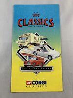The Corgi Classics - 1:76 Corgi Catalogue July-December 1997 - SUPERB CONDITION
