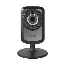 D-Link Wireless Day Night WiFi Network IP Security Camera & Remote View DCS-934L
