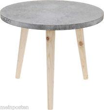 Beistelltisch Tisch Betonoptik Nachttisch Beton Grau/Braun 39x32,5 cm Couchtisch