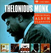 THELONIOUS MONK 5CD NEW Straight No Chaser/Underground/Cross-Cross/Dream/Solo