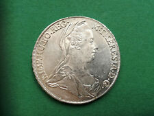 Maria Theresia Taler 1780 TS-IF Günzburg sehr, sehr selten