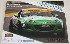 2016 Freedom Autosport #26 Mazda MX-5 Miata ST IMSA CTSC postcard