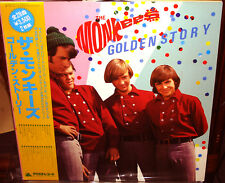 "MONKEES ""Golden Story"" Japanese ONLY 2Lp Arista DAVY JONES DOLENZ BEATLES"