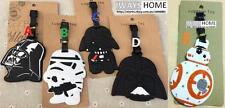 Star Wars MOVIE Travel Luggage Tag School Bag Silicone BLASTER RIFLE DARTH VADER