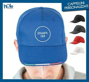 Cappellini Personalizzati Berretto Personalizzato con Visiera per Eventi Stock