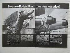 1/1981 PUB EASTMAN KODAK INDUSTREX PRODUCTS KODAK FILM AIRLINER SHIP ORIGINAL AD