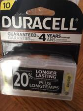 24 Duracell Size 10 Hearing Aid Batteries (with EasyTabs) - Expiration 2019