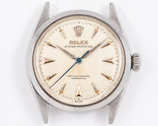 Excellent Vintage 1950's Rolex Stainless Steel Oyster Perpetual Bubble Back!