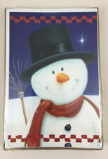 New Holiday Christmas Cards & Envelopes - 18 Count Boxed - Snowman & Top Hat