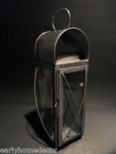 Antique Style Colonial Tin Outdoor Wall Lantern Lamp Candle Holder Sconce