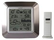 Weerstation temperatuur/vochtigheid binnen- en buitenshuis - Station météo
