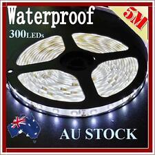 12V Cool White 5M 3528 SMD 300 Leds LED Strips Strip Light Waterproof