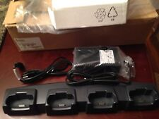 New Intermec 700C 4Bay Multi dock Charger Cradle 225-682-007 and Ps 851-075-003