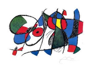 JOAN MIRO Vol II Litho VIII Facsimile Signed Offset Lithograph Print