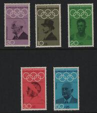 OPC 1968 Germany Mexico Olympics Set Sc#986 B434-7 Mi#561-565 MNH VF 28100