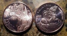 Thor, God of Thunder 1oz. Pure Copper Bullion Round!!