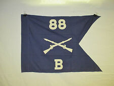 flag916 WW2 US Army Airborne Guide on 88th Parachute Infantry Regiment B Co W9D