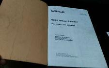 Caterpillar Parts book 926E Wheel Loader