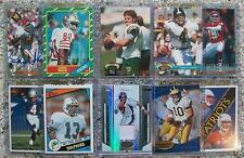 HUGE FOOTBALL CARD SALE 579 Lots Left BRADY Rodgers FAVRE Manning RC AUTO JSY ++