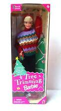 BARBIE DOLL TREE TRIMMING CHRISTMAS HOLIDAY ~ NRFB ~ #5pl
