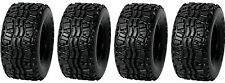 (4) New Duro 22x11-10 DI-K968 Dunlop KT869 Replacement OEM Kawasaki Mule Tires