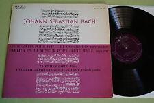 Johann Sebastian Bach - Les Sonates pour Flute Continuo, Vinyl, LP, vg++