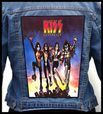 KISS - Destroyer --- Giant Backpatch Back Patch /Cinderella Alice Cooper