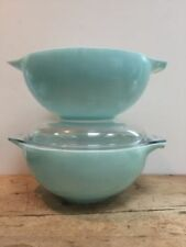 Bowl Blue Vintage Original Glassware
