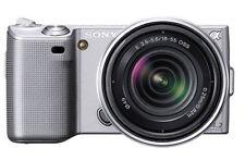 Silver Sony Alpha Digital Cameras