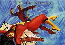 MARVEL MASTERPIECES SET 2 2008 UPPER DECK BOX TOPPER CARD SPIDER-WOMAN
