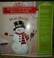 Christmas Window Clings Build A Snowman 11107 331