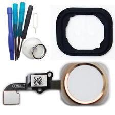 Iphone 6 Cable Flex Boton Home Id Sensor Táctil Menú Tecla Oro Con