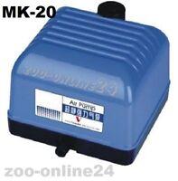 OSAGA-MK_HAILEA Luft-Kompressor Membran-Pumpe Aquarium-Teich-Belüfter-Eisfrei