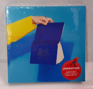 SHINee JongHyun 钟铉 She is The First Album CD Kpop Collection Sealed Kstar
