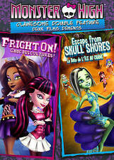 Monster High: Clawsome Double Feature  DVD