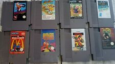 LOT excitebike duck tales mcdonaldland jetman lemmings black manta NINTENDO NES
