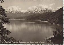 S.CROCE AL LAGO CON I MONTI DELL'ALPAGO - FARRA D'ALPAGO (BELLUNO) 1954