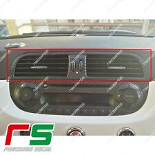 Fiat 500 abarth Decal ADESIVI sticker bocchette aereazione centrali carbonlook